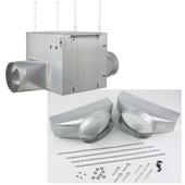Broan Elite 1100 CFM / 6.5 Sones Inline Blower, Galvanized Steel