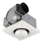 single bulb heater ventilation fan