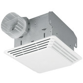 50 CFM Premium ceiling exhaust fan with light