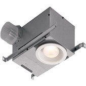 # 744LEDNT, Energy Star Recessed Fan/Light, 70 CFM, White