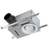 NuTone 70 CFM Recessed Fan/Light with White Trim, Housing: 12-3/4'' W x 8-1/4'' D x 6-7/8'' H