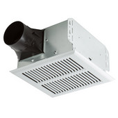 InVent ™ 80 CFM Heavy Duty Single-Speed Fan with Metal Grille, 2.0 Sones, Housing: 10'' W x 9-1/4'' D x 5-3/4'' H