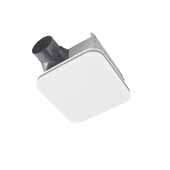 Flex™ Series 110 CFM Ceiling Bathroom Exhaust Fan With Cleancover™ and Grille, Energy Star® Certified, 9-1/4''W x 10''D x 5-3/4''H