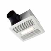 Invent™ Series 110 CFM, 1.0 Sones Humidity Sensing Bathroom Exhaust Fan With LED Light, Energy Star® Certified, 9-1/4''W x 10''D x 5-3/4''H
