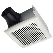 InVent ™ 80 CFM Single-Speed Fan, 1.5 Sones, Energy Star ®, Housing: 10'' W x 9-1/4'' D x 5-3/4'' H