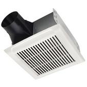 Broan NuTone InVent ™ 80 CFM Series Single-Speed Fan, 1.5 Sones, Energy Star ®, Housing: 10'' W x 9-1/4'' D x 5-3/4'' H