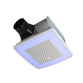 Chromacomfort™ Ventilation Fan With Multicolor LED Light and Control, 9-1/4''W x 10''D x 5-3/4''H