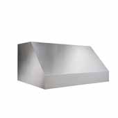 Elite EPD61 Series Pro-Style Outdoor Hood, 36'' W x 27'' D x 18'' H, 1100 CFM, Stainless Steel