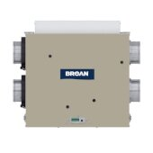 Sky Series Energy Recovery Ventilator (ERV) 100 CFM, Plus Side Ports, 27-1/8'' W x 20'' D x 9'' H
