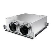 Sky Series Energy Recovery Ventilator (ERV) 105 CFM Humidity Sensor, Side Ports, 27-1/8'' W x 20'' D x 9'' H