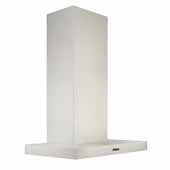 36'' Convertible Wall Mount T-Style Chimney Range Hood with LED Light in Stainless Steel, 36''W x 19-11/16''D x 27-3/16''H