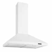 30'' Convertible Wall Mount Chimney Range Hood with LED Light in White, 30''W x 19-3/4''D x 26-5/8''H