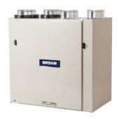 HE Series Recovery Ventilator Heat (HRV) or Energy (ERV) 140 - 157 CFM ECM Top, 23-9/16'' W x 14-15/16'' D x 24-9/16'' H