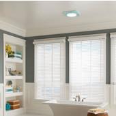 NuTone LunAura ™ 110 CFM Ventilation Fan/Light/Led Nightlight with Tinted Light Panel, 0.7 Sones, Energy Star ®, Housing: 11-3/8'' W x 10-1/2'' D x 7-5/8'' H