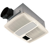 110 CFM ventilation fan, with light and nightlight