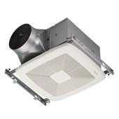 Ultra Green ™ 110 CFM Series Single-Speed Fan, <0.3 Sones, Energy Star ®, Housing: 10-1/2'' W x 10-1/2'' D x 7-5/8'' H
