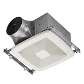 Ultra Green ™ 80 CFM Single-Speed Fan, <0.3 Sones, Energy Star ®, Housing: 11-3/8'' W x 10-1/2'' D x 7-5/8'' H