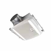 Broan Ultra Green™ Series 30 CFM To 110 CFM Humidity Sensing Multi-Speed Fan and LED Light Combo, Energy Star® Certified, 10-1/2W x 11-3/8D x 7-5/8H