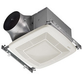 Ultra Green ™ 110 CFM Multi-Speed Fan/Light/Night Light, <0.3 Sones, Energy Star ®, Housing: 11-3/8'' W x 10-1/2'' D x 7-5/8'' H