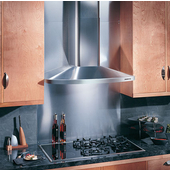 Elite 36'' Wide Wall Chimney Hood, 370 CFM, Stainless Steel