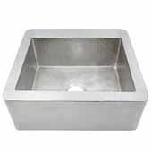 Farmhouse 25 Kitchen Sink In Brushed Nickel, 25''W X 19''D X 10''H