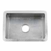 Cocina 21 Kitchen Sink In Brushed Nickel, 21-1/2''W X 16''D X 9''H