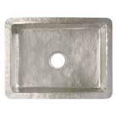 Cocina 24 Kitchen Sink In Brushed Nickel, 24''W X 18''D X 10-1/2''H