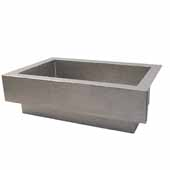 Paragon Kitchen Sink In Brushed Nickel, 33''W X 22''D X 10-1/2''H