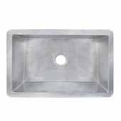 Cocina 30 Kitchen Sink In Brushed Nickel, 30''W X 18-1/2''D X 10''H