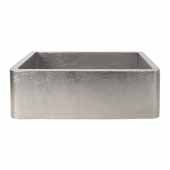Farmhouse 30 Kitchen Sink In Brushed Nickel, 30''W X 18-1/2''D X 10''H