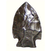 Southwest Collection 1-1/4'' Wide Arrowhead Cabinet Knob in Antique Brass, 1-1/4'' W x 3/4'' D x 2'' H