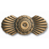 Southwest Collection 2-1/4'' Wide Southwest Design Cabinet Knob in Antique Brass, 2-1/4'' W x 3/4'' D x 1'' H