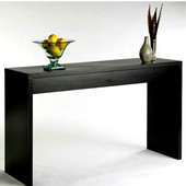 Northfield Collection Wall Console Table, Expresso finish