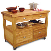 Grand Americana Kitchen Island, 48'' W x 26'' D x 35 1/2''H