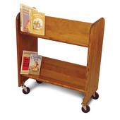 BookMaster in Birch w/ Walnut Stain, 27''W x 13''D x 31''H