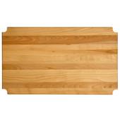 Hardwood Insert, Fits 24'' W x 14'' D Metro-Style Shelf, 23-1/8'' W x 13-5/16'' D x 1'' Thick