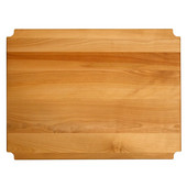 Hardwood Insert, Fits 24'' W x 18'' D Metro-Style Shelf, 23-1/8'' W x 17-5/16''D x 1'' Thick