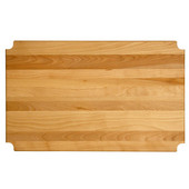 Hardwood Insert, Fits 36'' W x 18'' D Metro-Style Shelf, 35-1/8'' W x 17-5/16''D x 1'' Thick