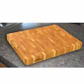 - End Grain Chopping Block, 19'' x 14-1/2'' x 2'' thick