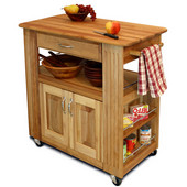 Heart-Of-The-Kitchen Island, 36'' W x 18'' D x 34 1/2'' H