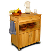 Cuisine Kitchen Cart, 32'' W x 17'' D x 34 1/2'' H