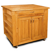 Deep Storage Kitchen Island, 40'' W x 26'' D x 34 1/2'' H