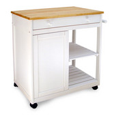 Cottage Collection ''Preston Hollow'' Kitchen Island, 32 1/4'' W x 17 3/8'' D x 34'' H
