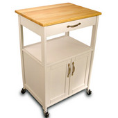 Storage Trolley Cart, 23-1/2'' W x 17-1/2'' D x 34-1/4'' H