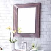 Cabernet Mirror, 29''W x 1-1/2''D x 33''H