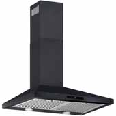 30'' Wall Mounted Touch Sensitive Range Hood In Black Coated Steel, 400 CFM, 29-3/8''W x 18-7/8''D x 36''H