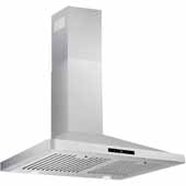 30'' Wall Mounted Touch Sensitive Range Hood In Stainless Steel, 400 CFM, 29-3/8''W x 18-5/16''D x 36-5/16''H