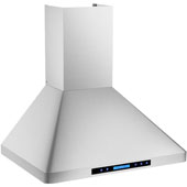 -Euro AP238-PS29 30'' Stainless Steel Wall Mount Range Hood, 900 CFM