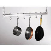 Bar Chrome Ceiling Pot Rack
