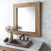 Chardonnay Mirror, 29''W x 1-1/2''D x 33''H